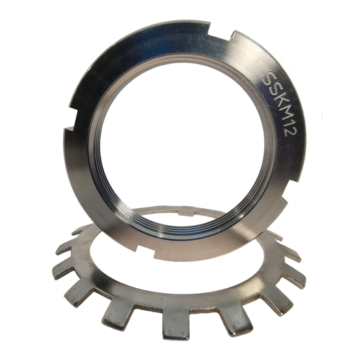 Stainless Steel Locknuts and Washers