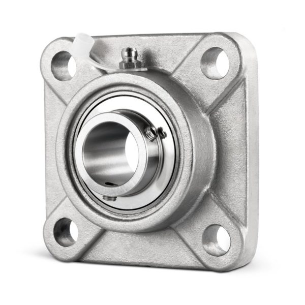 SS-UCF200-Series-4-Hole-Fully-Stainless-Steel-Flanged-Housing-Unit